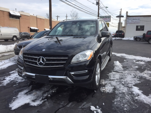2014 Mercedes-Benz M-Class for sale at M & C AUTO SALES in Roselle NJ