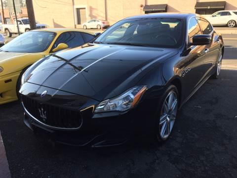 2014 Maserati Quattroporte for sale at M & C AUTO SALES in Roselle NJ