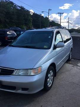2002 Honda Odyssey for sale at Delong Motors in Fredericksburg VA