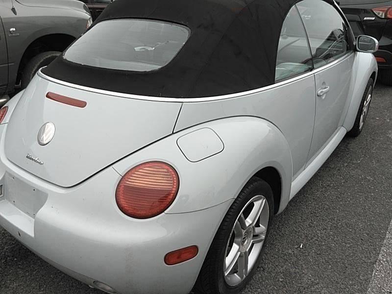 2005 Volkswagen New Beetle GLS 1.8T 2dr Turbo Convertible - Fredericksburg VA