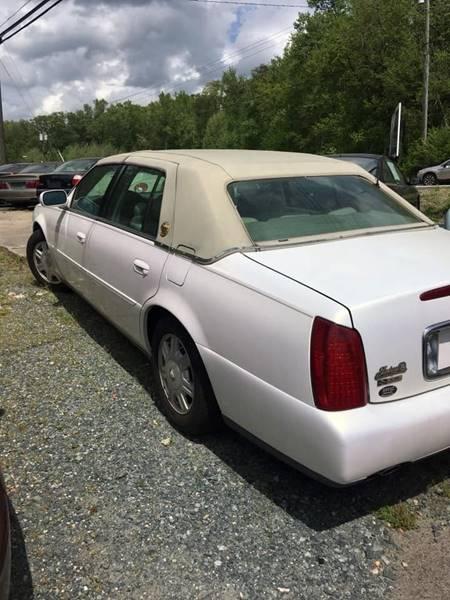 2004 Cadillac DeVille 4dr Sedan - Fredericksburg VA