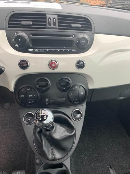2012 FIAT 500 Sport 2dr Hatchback - Fredericksburg VA