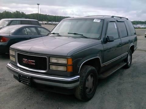 1999 GMC Yukon for sale in Fredericksburg, VA