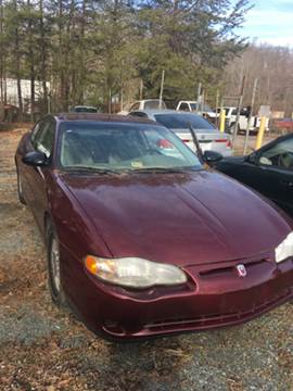 2002 Chevrolet Monte Carlo for sale at Delong Motors in Fredericksburg VA