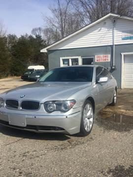 2003 BMW 7 Series for sale in Fredericksburg, VA
