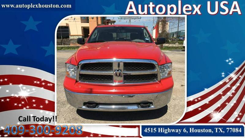 2011 RAM Ram Pickup 1500 SLT 4x4 4dr Crew Cab 5.5 ft. SB Pickup - Houston TX