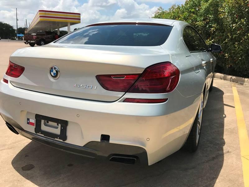 2013 BMW 6 Series 650i Gran Coupe 4dr Sedan - Houston TX