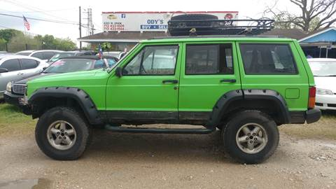 1996 Jeep Cherokee for sale in Houston, TX