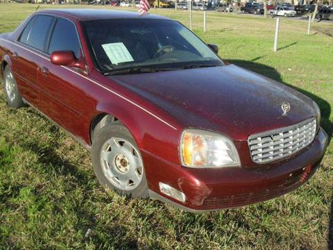2000 Cadillac DeVille for sale at Ody's Autos in Houston TX