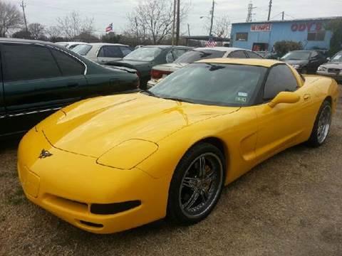 2000 chevrolet corvette for sale in houston tx. Black Bedroom Furniture Sets. Home Design Ideas