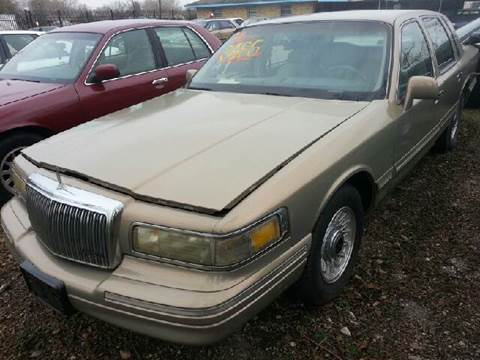 Used 1996 Lincoln Town Car For Sale In Spartanburg Sc Carsforsale Com