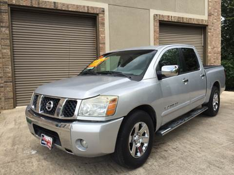 2006 Nissan Titan for sale at Ody's Autos in Houston TX