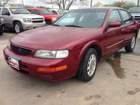 1996 Nissan Maxima for sale at Ody's Autos in Houston TX