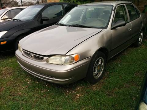 1999 Toyota Corolla for sale at Ody's Autos in Houston TX