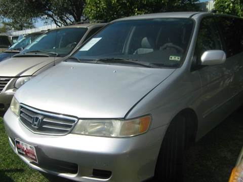 2003 Honda Odyssey for sale at Ody's Autos in Houston TX
