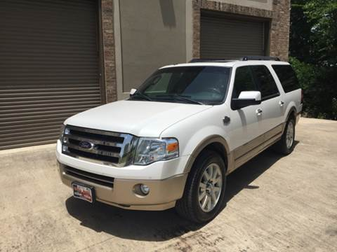 2012 Ford Expedition EL for sale at Ody's Autos in Houston TX