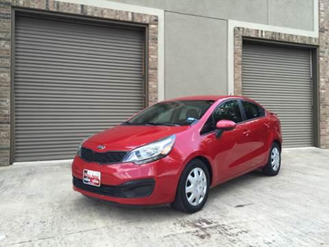 2013 Kia Rio for sale at Ody's Autos in Houston TX