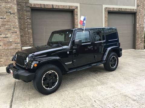 2012 jeep wrangler unlimited for sale in houston tx. Black Bedroom Furniture Sets. Home Design Ideas