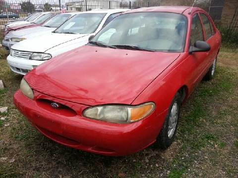1998 Ford Escort for sale at Ody's Autos in Houston TX