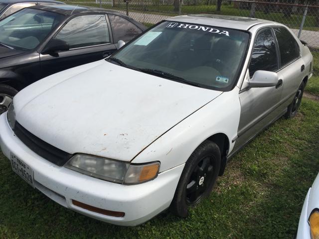 1996 Honda Accord For Sale At TNT Auto Enterprises Inc.   TNT1 In Houston TX