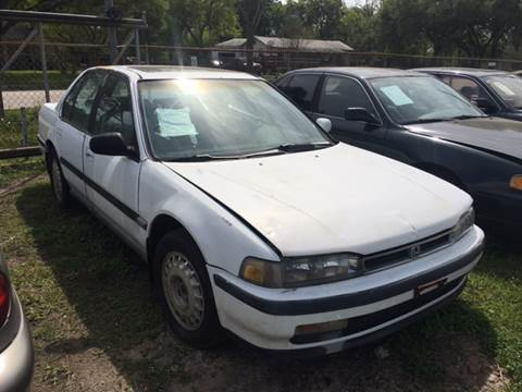 1991 Honda Accord for sale at Ody's Autos in Houston TX