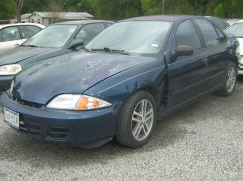2002 Chevrolet Cavalier for sale at Ody's Autos in Houston TX