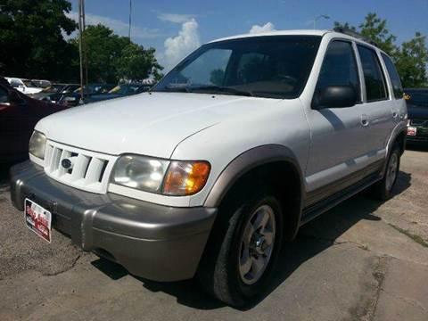 2002 Kia Sportage for sale in Houston, TX