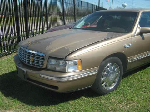 1998 Cadillac DeVille for sale at Ody's Autos in Houston TX