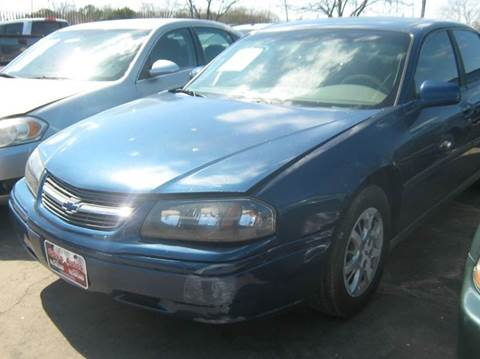 2004 Chevrolet Impala for sale at Ody's Autos in Houston TX