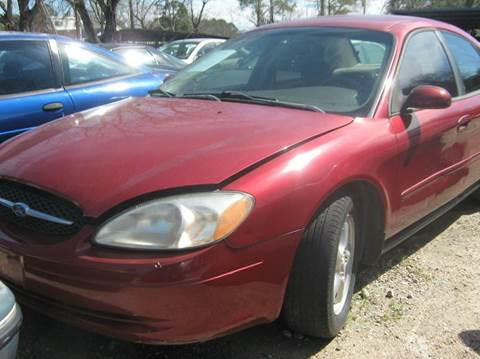 2002 Ford Taurus for sale in Houston, TX