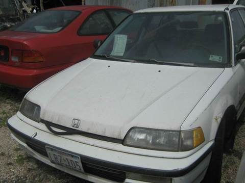 1991 Honda Civic for sale at Ody's Autos in Houston TX