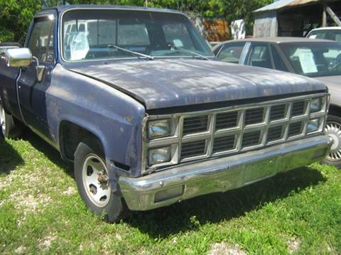 Used 1982 Chevrolet C K 10 Series For Sale Carsforsale Com