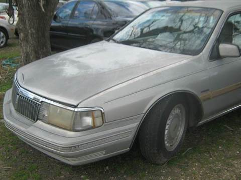 1992 Lincoln Continental for sale at Ody's Autos in Houston TX