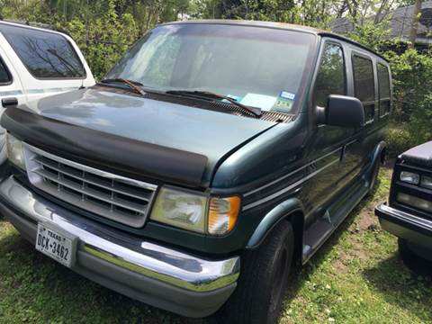 1996 Ford E-150 for sale at Ody's Autos in Houston TX