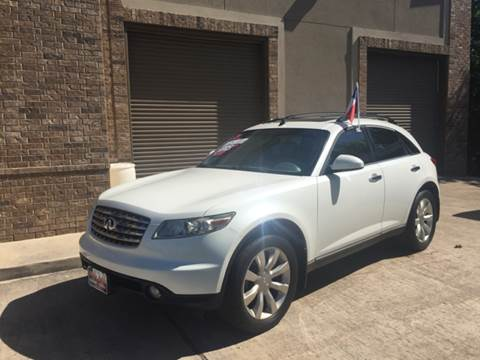 2003 Infiniti FX45 for sale in Houston, TX