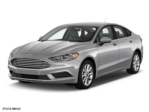 2017 Ford Fusion Hybrid for sale in Vauxhall, NJ