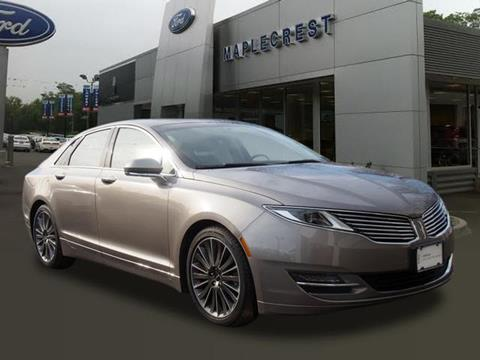 2016 Lincoln MKZ for sale at MAPLECREST FORD LINCOLN USED CARS in Vauxhall NJ