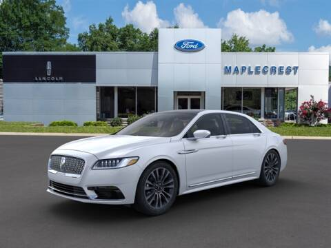 2019 Lincoln Continental for sale at MAPLECREST FORD LINCOLN USED CARS in Vauxhall NJ
