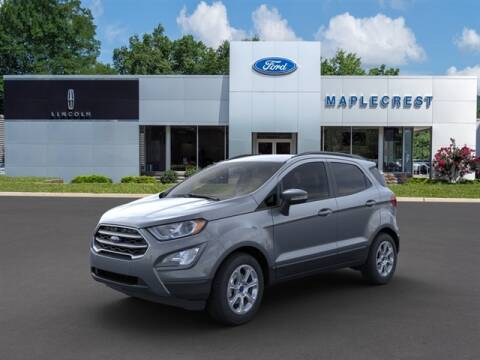 2020 Ford EcoSport for sale at MAPLECREST FORD LINCOLN USED CARS in Vauxhall NJ