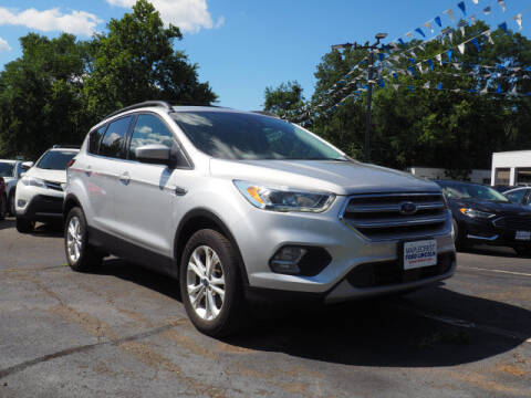 2018 Ford Escape for sale at MAPLECREST FORD LINCOLN USED CARS in Vauxhall NJ