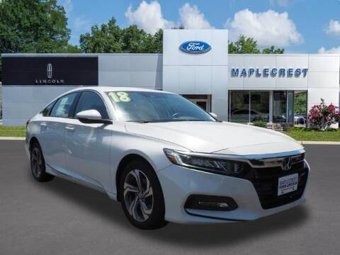 2018 Honda Accord for sale at MAPLECREST FORD LINCOLN USED CARS in Vauxhall NJ