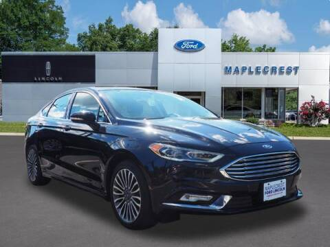 2017 Ford Fusion for sale at MAPLECREST FORD LINCOLN USED CARS in Vauxhall NJ