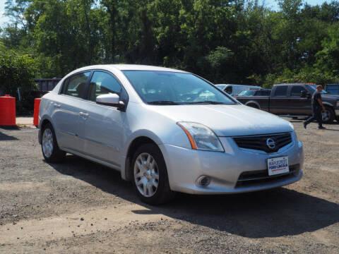 2012 Nissan Sentra for sale at MAPLECREST FORD LINCOLN USED CARS in Vauxhall NJ