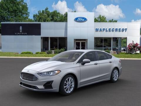 2020 Ford Fusion Hybrid for sale at MAPLECREST FORD LINCOLN USED CARS in Vauxhall NJ