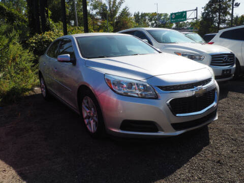 2015 Chevrolet Malibu for sale at MAPLECREST FORD LINCOLN USED CARS in Vauxhall NJ