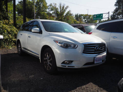 2013 Infiniti JX35 for sale at MAPLECREST FORD LINCOLN USED CARS in Vauxhall NJ