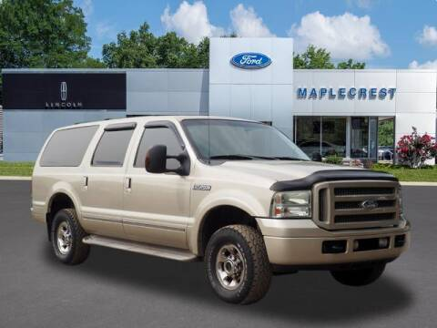 2005 Ford Excursion for sale at MAPLECREST FORD LINCOLN USED CARS in Vauxhall NJ