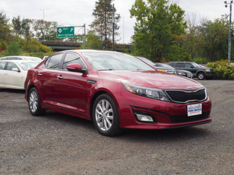 2015 Kia Optima for sale at MAPLECREST FORD LINCOLN USED CARS in Vauxhall NJ