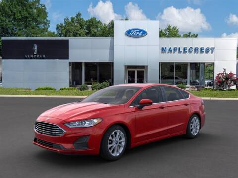2020 Ford Fusion for sale at MAPLECREST FORD LINCOLN USED CARS in Vauxhall NJ