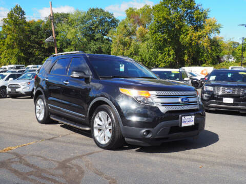 2014 Ford Explorer for sale at MAPLECREST FORD LINCOLN USED CARS in Vauxhall NJ